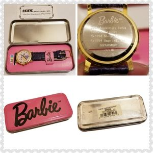 Barbie 35th Anniversary Collector's Edition Watch